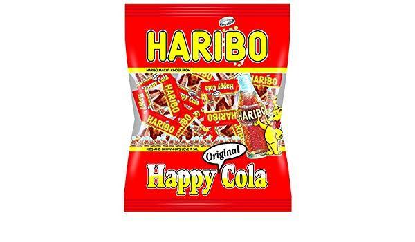 Желейні цукерки Haribo Happy Cola mini 10 g
