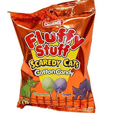 Fluffy Stuff Scaredy Cats Cotton Candy 60 g