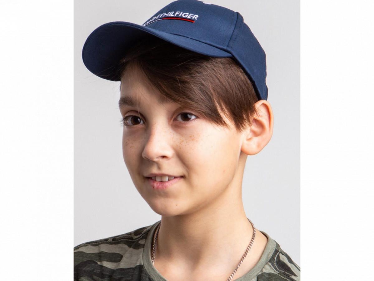Кепка на лето для мальчика оптом - Томми Хилфигер (реплика) - хлопок