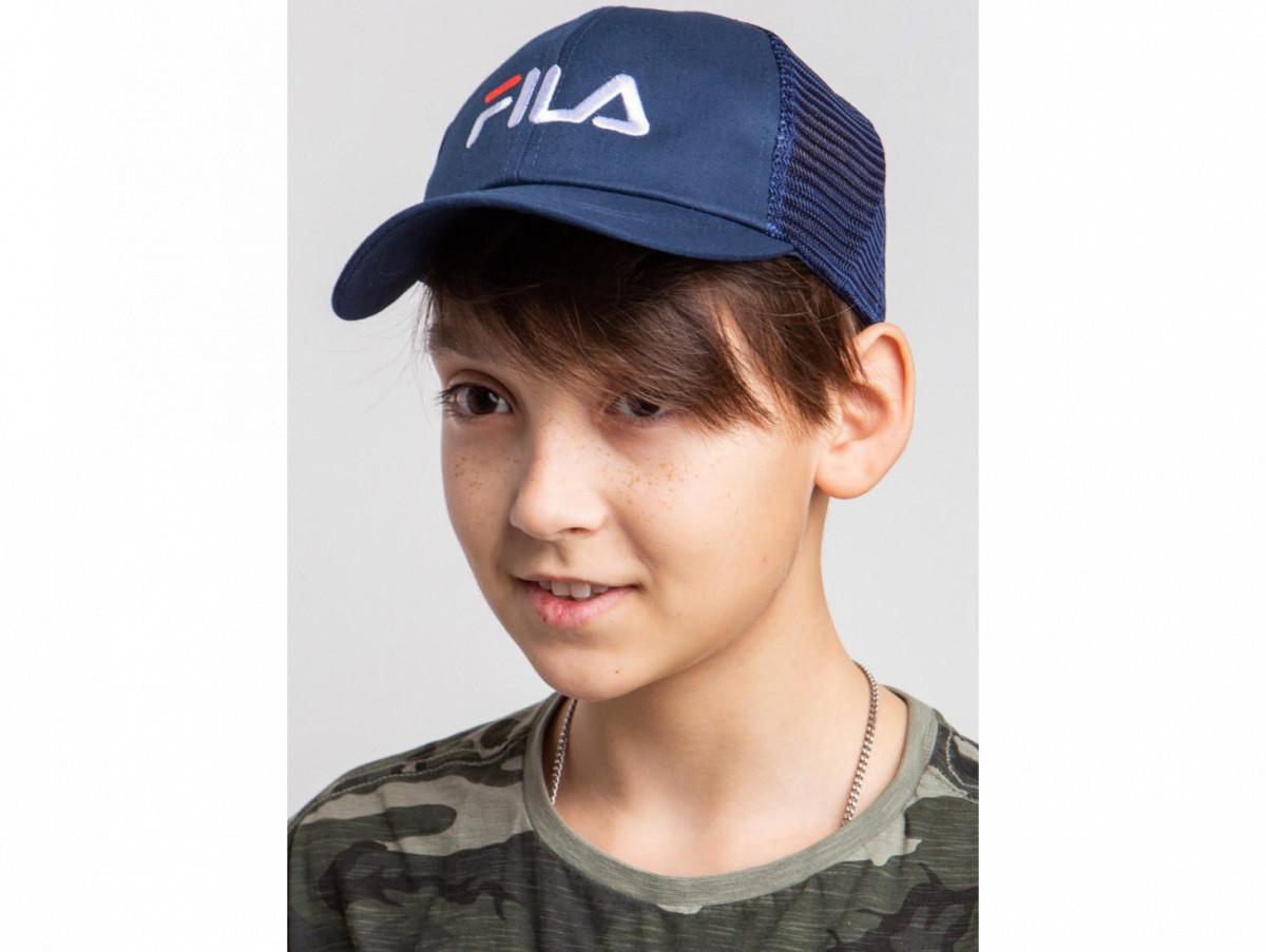 Кепка на лето для мальчика оптом - Фила (реплика) - хлопоксетка