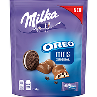 Milka Oreo Minis Original 153 g