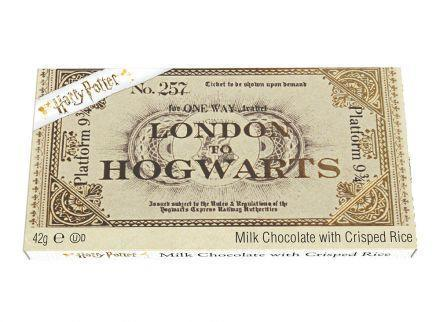 Harry Potter Chocolate Ticket To Hogwats 42 g