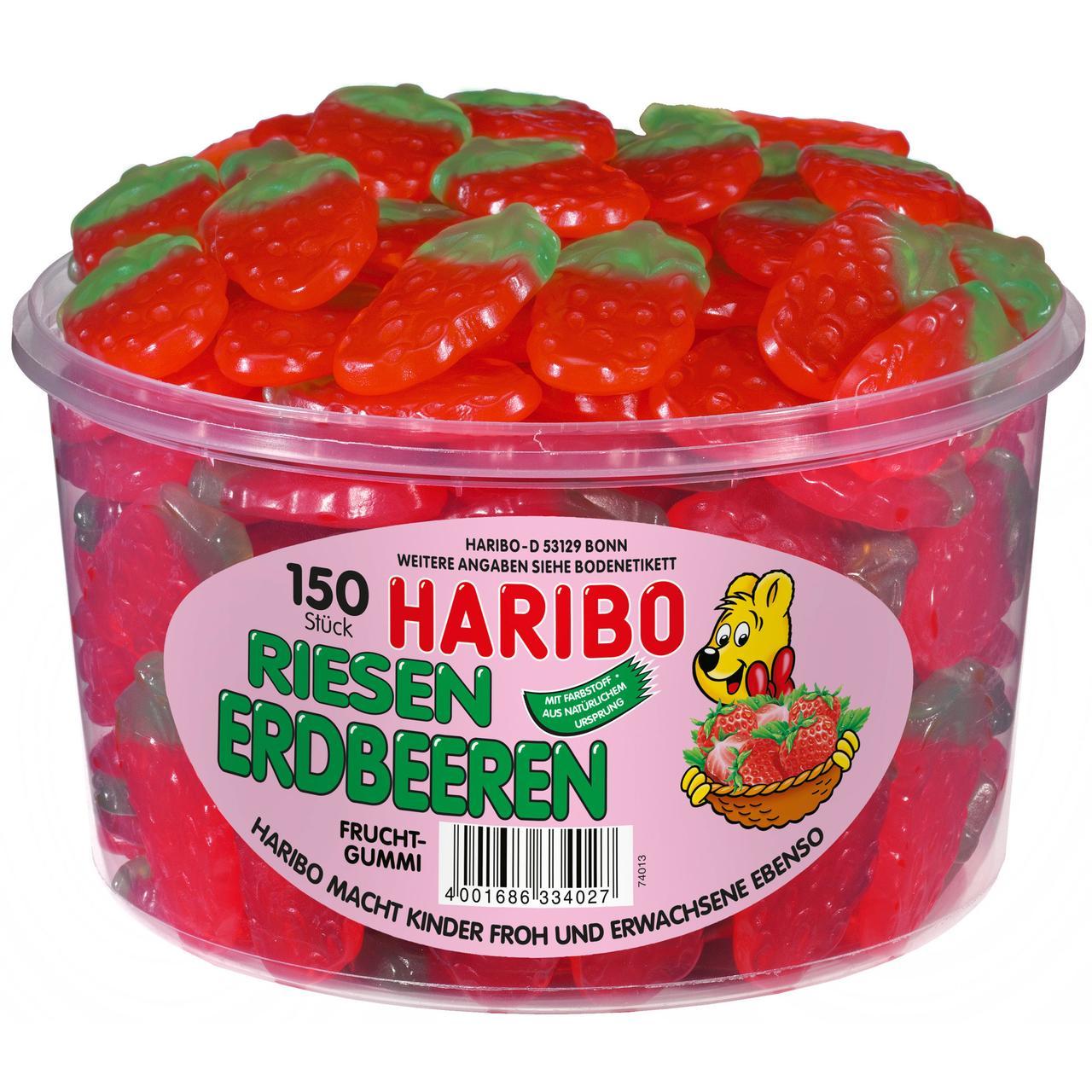 Haribo Strawberry 150 Stuck 1350 g