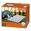 Надувной матрас Intex 127х193х24 см, с двумя подушками, насосом. Полуторный, фото 3