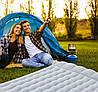 Надувной матрас Intex 127х193х24 см, с двумя подушками, насосом. Полуторный, фото 8