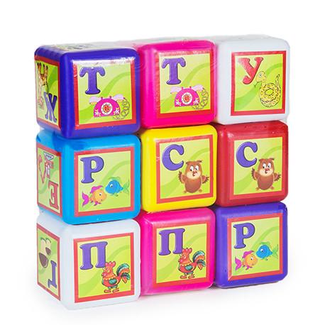 Кубики большие Bamsik Абетка 9 (020/1)