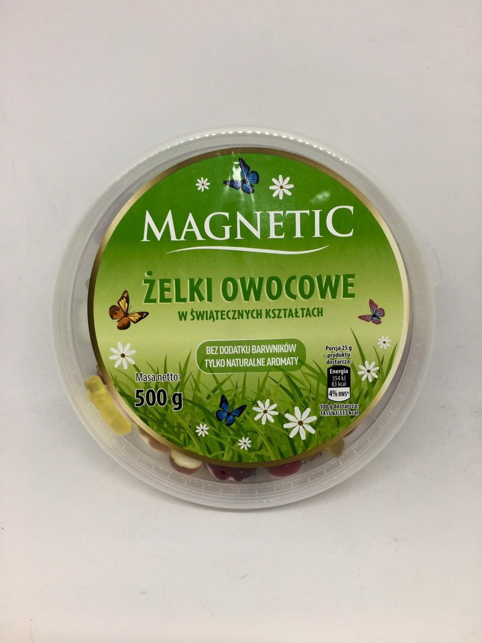 Magnetic Zelki Owocowe в сахаре 500 g