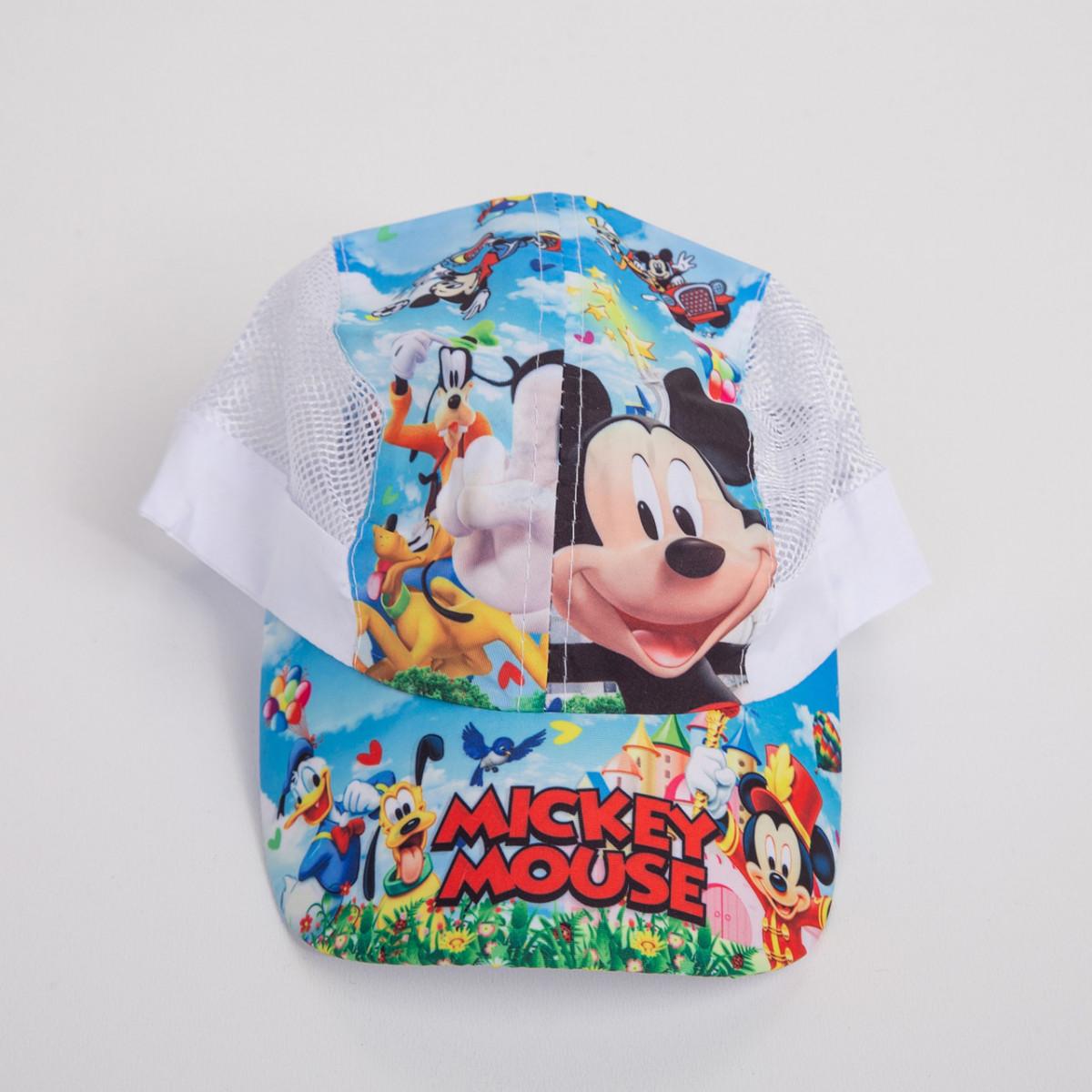 Легкая кепка для мальчика на лето - Сетка-микки(к20)