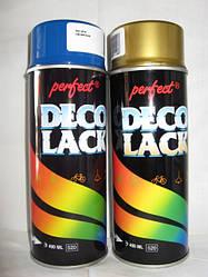 Краска для бампера Deco Lack черная, 400мл