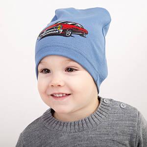 Модная весенняя шапка для мальчика оптом - Артикул 2299