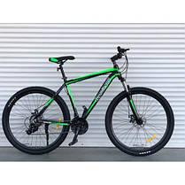 """Горный Алюминиевый Велосипед TopRider 27,5 дюймов""""901  размер рамы 17"""" салатовый, фото 3"""