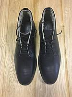Ботинки ASOS Desert Boots in Tan Leather Black, фото 1