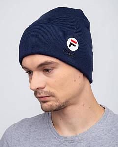 Мужская модная шапка на зиму - Артикул 2540 оптом
