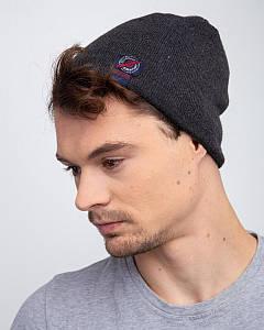 Мужская шапка на зиму на флисе оптом - Артикул 2469