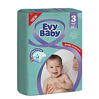 Подгузники детские Evy Baby Midi 3 (5-9 кг) 68 шт.