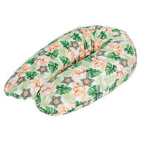 U образная подушка для беременных ( подкова) Ceba Baby Physio Multi джерси Aloha, 190x35 см.