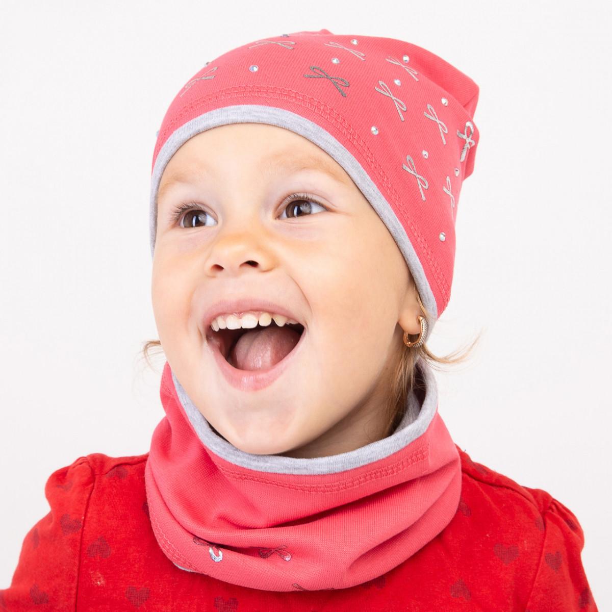 Осенний комплект с бантиками для девочки - Артикул 2346
