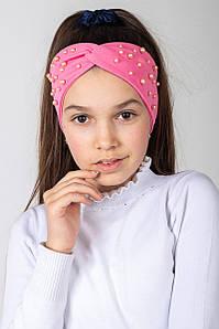 Повязка на голову - чалма двойная для девочки - Артикул 2452