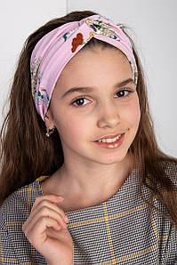 Повязка на голову - чалма двойная для девочки - Артикул Чалма2