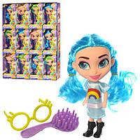 """Детская кукла """"Hairdorables"""" с аксессуарами 18 см."""