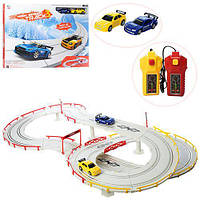 Детский игровой гоночный трек Best Toys с машинками, на 2 пульта. Подарок мальчику на день рождения