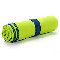Быстросохнущее полотенце Meteor Towel 110х175 см Зеленое (m0081)