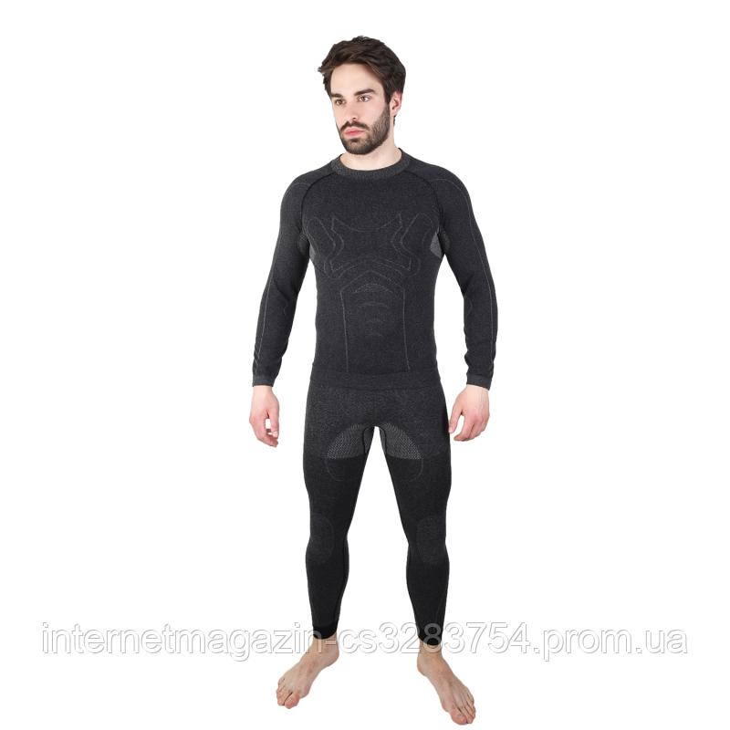 Мужское термобелье Hanna Style Haster Alpaca Wool 45% S-M Черный