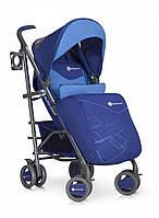 Коляска детская прогулочная Euro-Cart Cross Line, синий