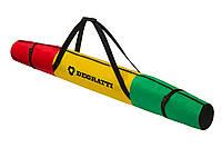 Чохол для лиж Degratti Ski 160 Green-Yellow-Red, фото 1