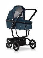 Детская универсальная коляска 2 в 1 EasyGo Soul/без сумки, бирюзовая (6243)