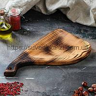 Деревянные доски для подачи.Фигурная обожженная. (A01006), фото 1