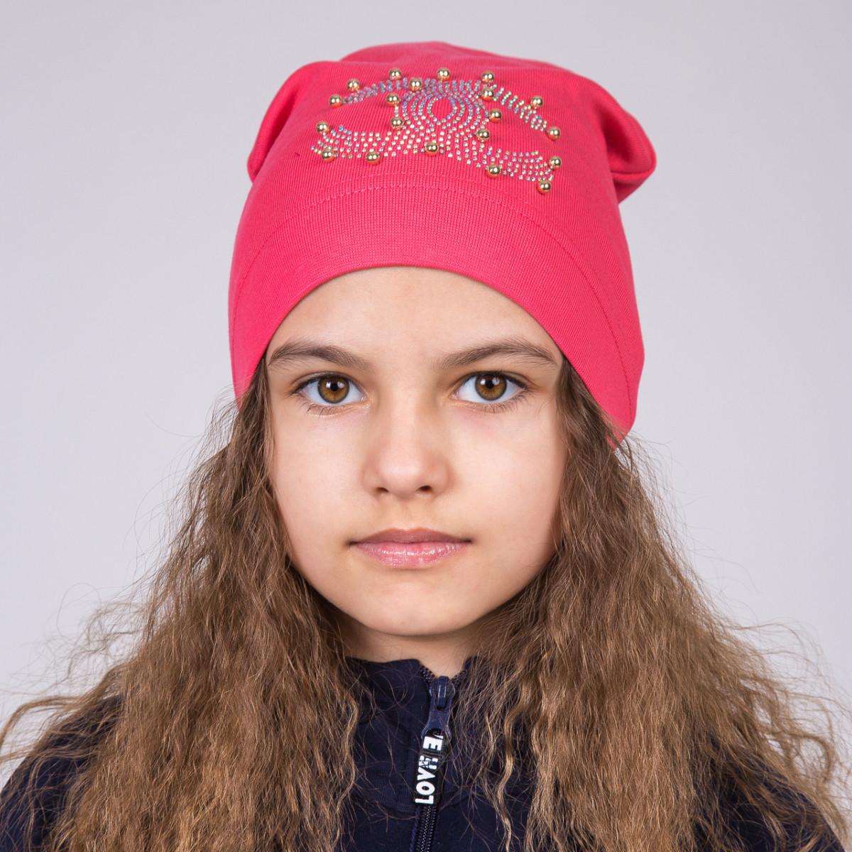 Шапка Шанель для девочек на весна 2018 - Артикул 2008