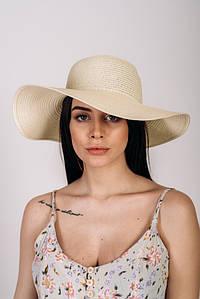 Шляпка широкополая Анджела оптом SHL-2044