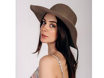 Шляпка широкополая Сара оптом SHL-2025