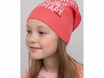 Яркая шапочка для девочки на весну-осень - Артикул KR 2080