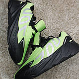 Мужские кроссовки Adidas Yeezy Boost 700 Green Black, мужские кроссовки адидас изи буст 700, фото 2