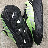 Мужские кроссовки Adidas Yeezy Boost 700 Green Black, мужские кроссовки адидас изи буст 700, фото 6