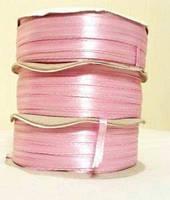 Лента атласная 0.3см №5 розовая