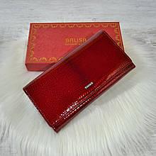 Кошелек Balisa Classic из кожи под лаком красный