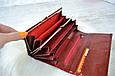 Кошелек Balisa Classic из кожи под лаком красный, фото 3
