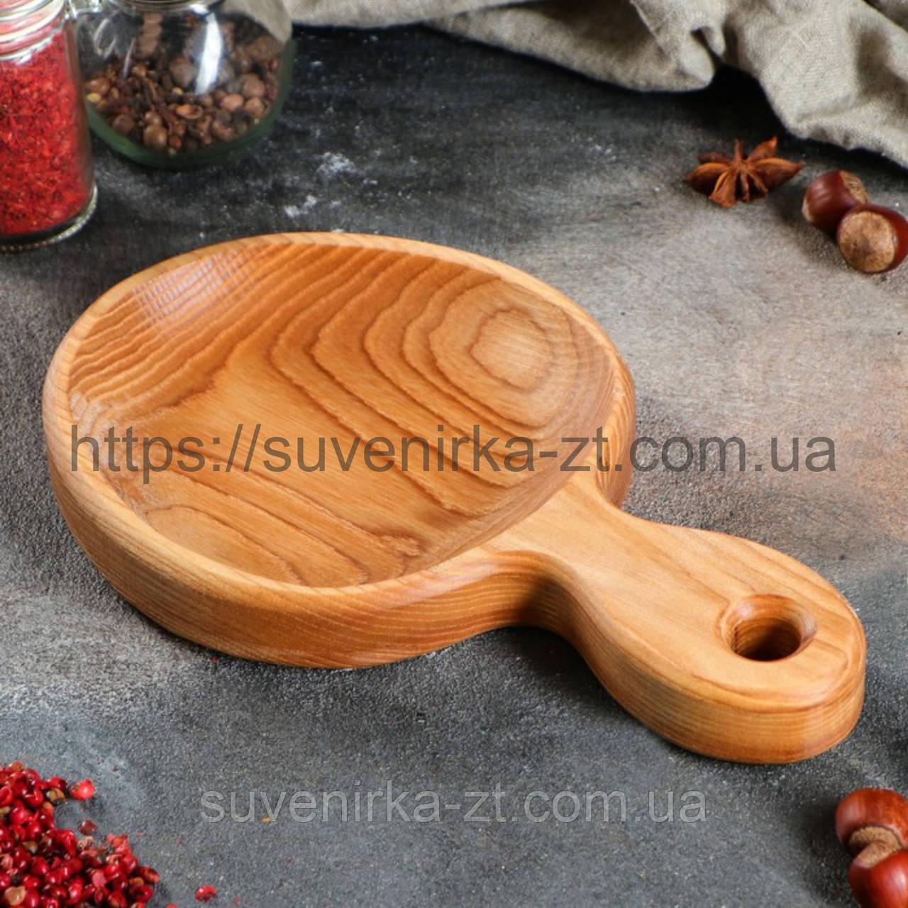 Деревянная посуда для подачи. (A01017)