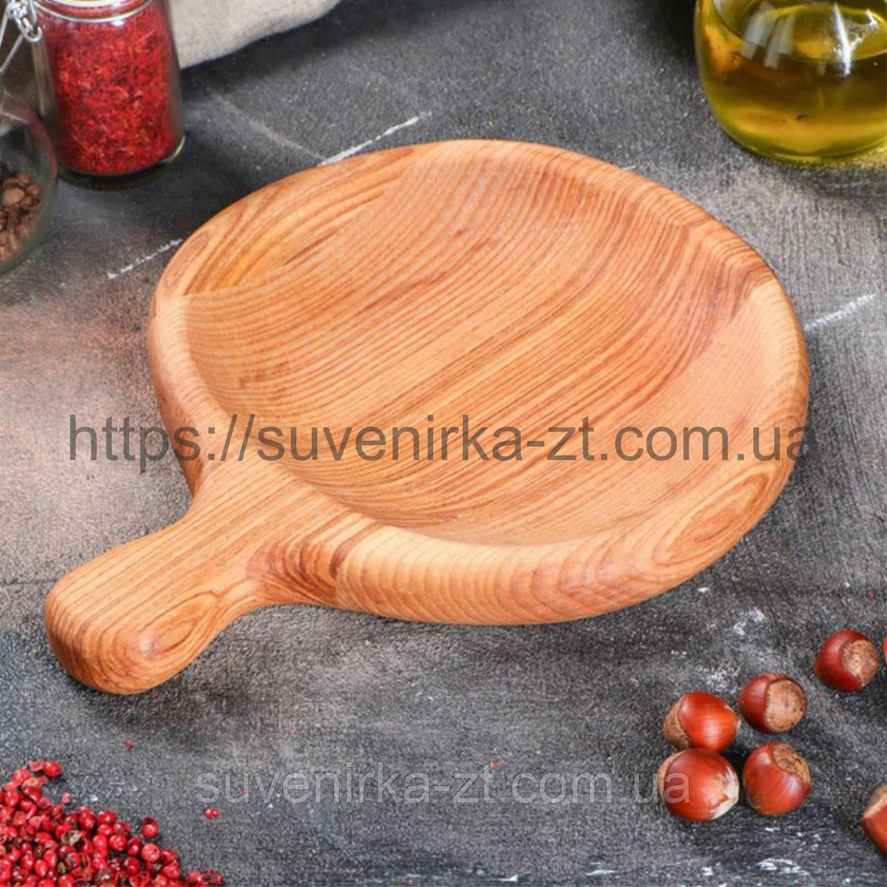 Деревянная посуда для подачи. (A01019)