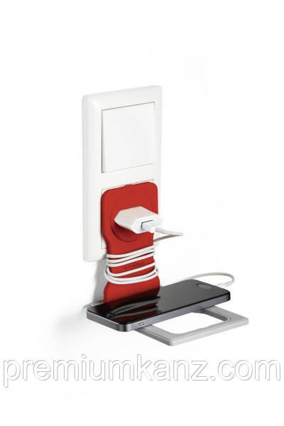 Держатель-подставка для мобильного телефона под розетку