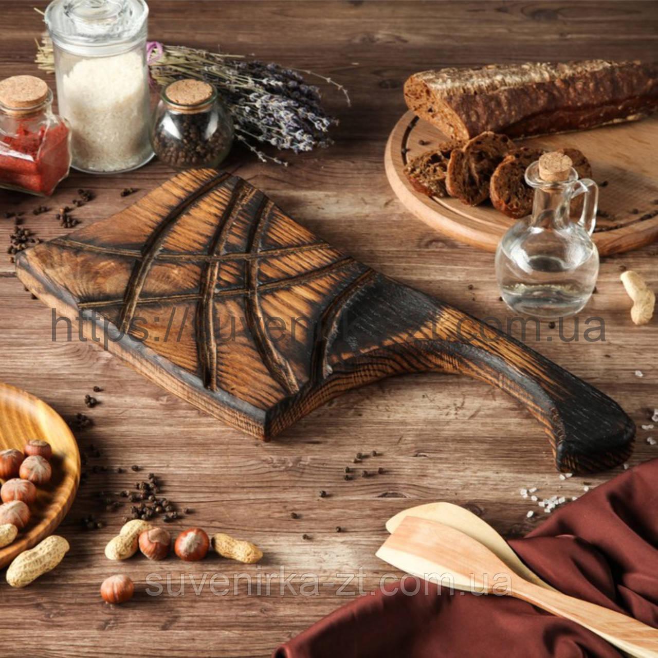 Деревянные доски для подачи. Фигурная. (A01005)