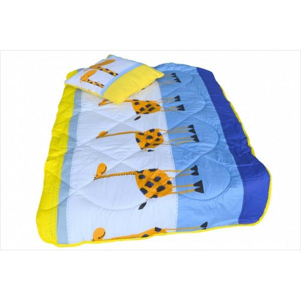 Дитяче закрите силіконове ковдру 110x140 з подушкою 50х50 T-54801