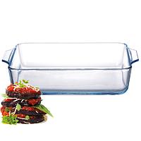 Форма для запекания из жаропрочного стекла (13*13*4 см. 500 мл.)