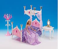 """Мебель """"Gloria"""" для спальни, кровать, столик, зеркало,...,в кор.31*17.5*6см /36-3/ (1214)"""