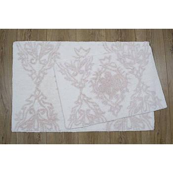 Набор ковриков Irya - Juana pembe 40*60+55*85