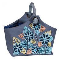 Набор для вышивки мягкой корзинки бисером и пайетками МК-05