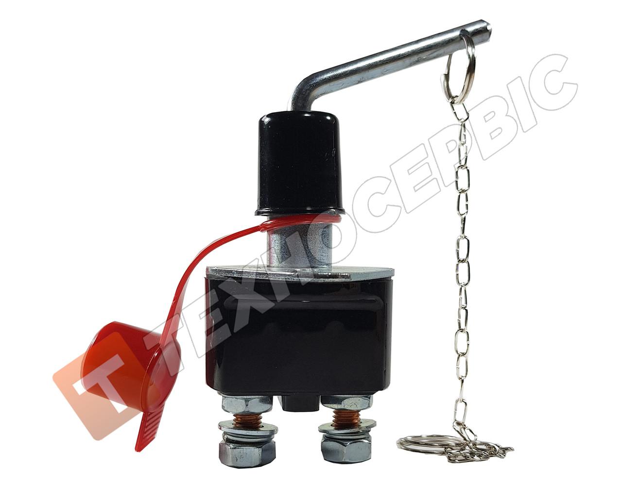 Выключатель массы с поворотным рычагом 12-24v (250А) (пр-во ALSA) Турция